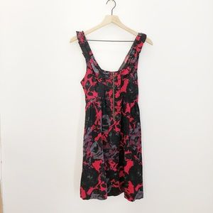 UO Kimchi Blue Floral Dress Size Small